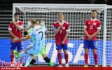 گزارش تصویری/ روز اول مرحله یک چهارم نهایی جام جهانی فوتسال