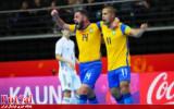 گزارش تصویری/ روز دوم مرحله یک هشتم نهایی جام جهانی فوتسال
