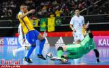 گزارش تصویری/ بازی تیم های برزیل و ژاپن در مرحله یک هشتم نهایی جام جهانی فوتسال