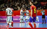 گزارش تصویری/ بازی تیم های اسپانیا و پرتغال در یکچهارم نهایی جام جهانی فوتسال