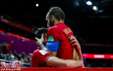 گزارش تصویری/ بازی تیم های پرتغال و صربستان در یک هشتم نهایی جام جهانی فوتسال