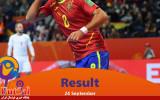 صعود ماتادورها به جمع هشت تیم نهایی/ اسپانیا نیمه اول چک را نقد کرد!