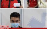 بازیکنان فولاد زرند ایرانیان واکسینه شدند