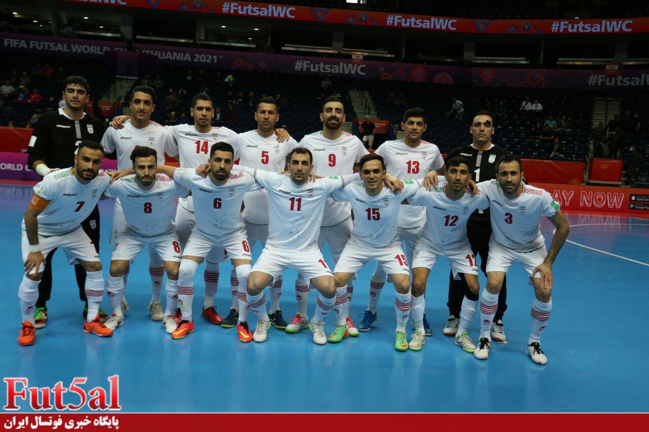 پاداش نقدی برای اعضای تیم ملی فوتسال پس از اولین برد در جام جهانی