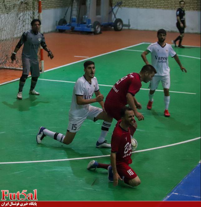 گزارش تصویری/ بازی تیم های چیپس کامل مشهد با شهروند ساری