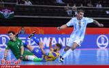 گزارش تصویری/ بازی تیم های برزیل و آرژانتین در نیمه نهایی جام جهانی فوتسال