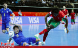 گزارش تصویری/ بازی تیم های پرتغال و قزاقستان در نیمه نهایی جام جهانی فوتسال