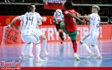 گزارش تصویری/ بازی تیم های پرتغال و آرژانتین در فینال جام جهانی فوتسال