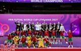 گزارش تصویری/ مراسم اهدای مدال و جشن قهرمانی جام جهانی فوتسال